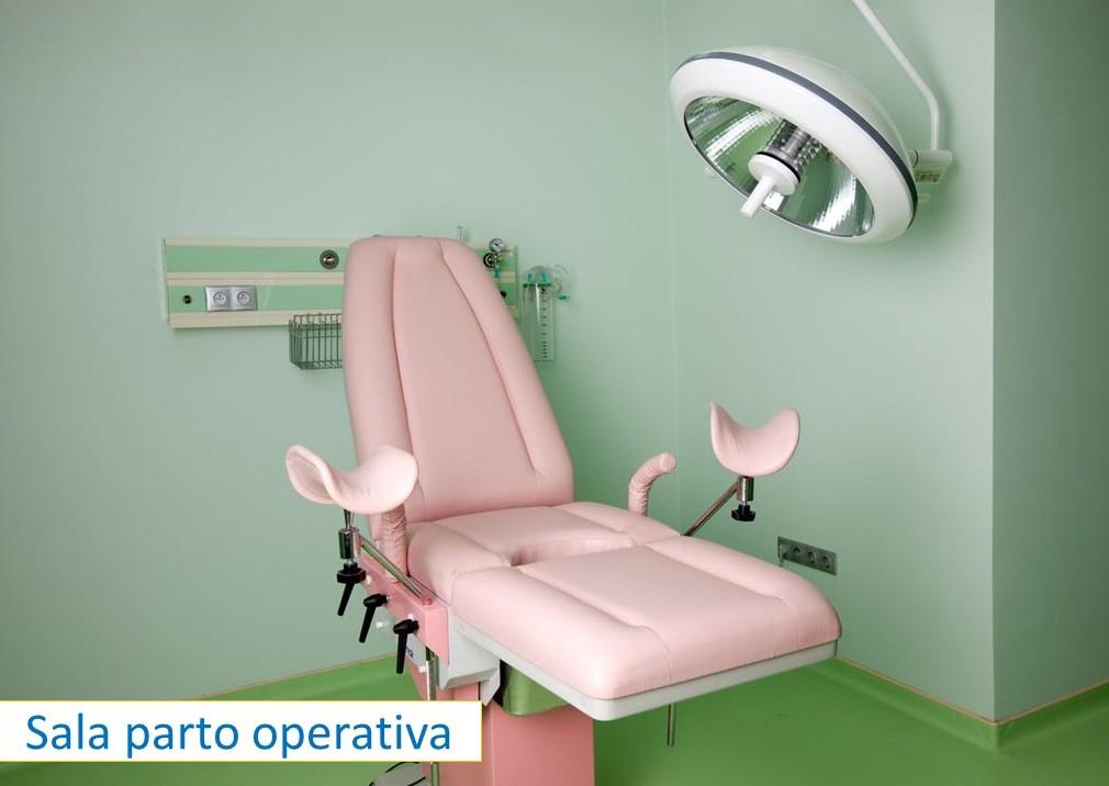 sala parto operativa